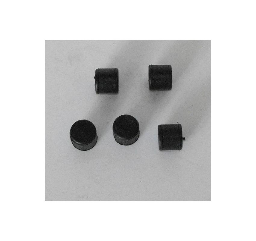 Gomas antivibracion aletas cilindro 17.5mm