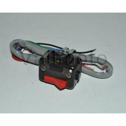 Llave luces cota 348 negra con instalacion Ref 5170065