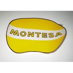 Anagrama portanumeros amarillo montesa Ref 1038