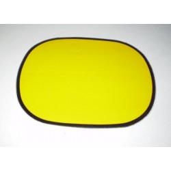 Anagrama portanumeros amarillo Ref 1056