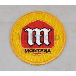 Parche Bordado Montesa amarillo peq. Ref- 1287