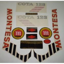 Anagrama Cota 123 Blanca Kit Ref 1074
