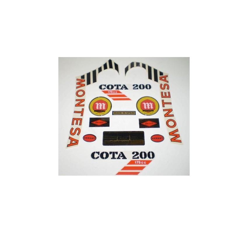 Anagrama Cota 200 Blanca Kit Ref 1075