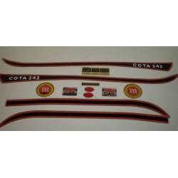 Anagrama Cota 242 Blanca Kit Ref 1076