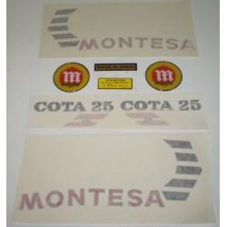 Anagrama Cota 25 A Blanca Kit Ref 1123