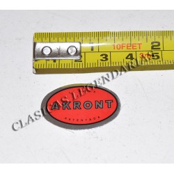 Anagrama Akront rojo R.11901