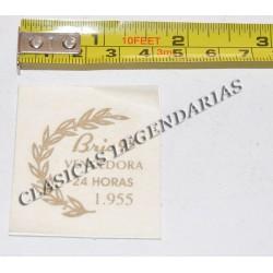 Anagrama Conmemorativo Brio 91 Ref.1191
