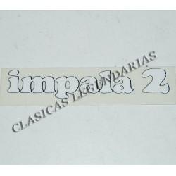 Anagrama montesa impala dos 175 Ref 1131