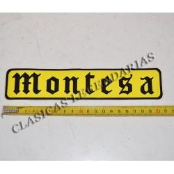 Anagrama Montesa Amarillo y negro ref.1051