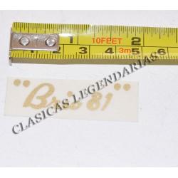 Anagrama Brio 81 Ref- 1192