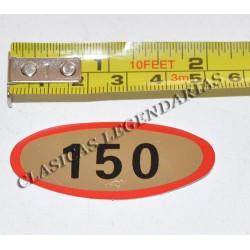 Anagrama montesa Brio 150 Ref- 1199