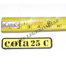 Anagrama cota 25 C Ref 1148