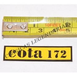 Anagrama cota 172 amarillo Ref 1111