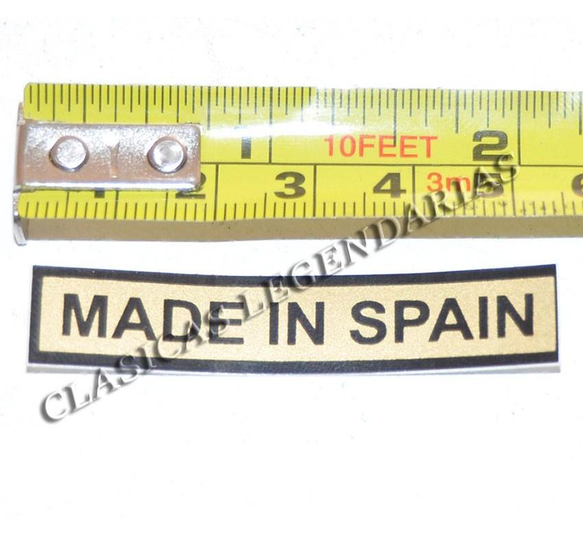 Anagrama deposito montesa made in spain Ref 1159