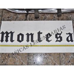 Anagrama Montesa Negro de 1,0 metro ref.1494
