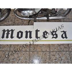 Anagrama Montesa Negro 1,5 metros ref. 1497
