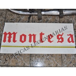 Anagrama Montesa Rojo de 1,0 metro ref.1495