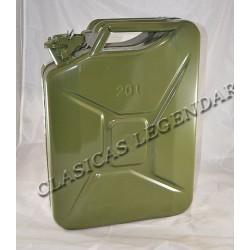 Bidon gasolina Metalico Metal 20 litros ref.1560