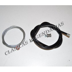 Cable Freno delantero cota 247 Kit ref. 21550161