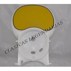 Careta faro blanca Enduro 75-125-360 H6,H7 con anagra ref.628011611