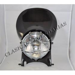 Careta Faro Enduro 250  H6 negra ref.628011601