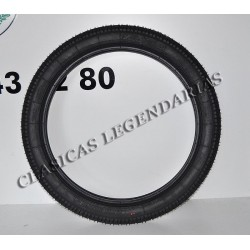 Cubierta delantera clasica 2.75x19 Ref 50003