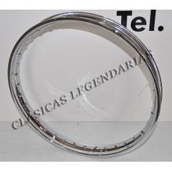 Llanta hierro 1.60x19 Ref 5003