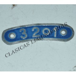 Placa indicadora 3 velocidades brio Ref 66032