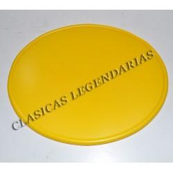 Placa porta numeros Enduro y Cappra amarilla ref. 2620339