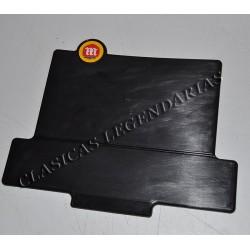 Placa portanumeros cota 247 negra ref.2180116
