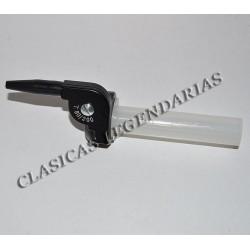 Puño gas amal metalico salida lateral cota ref.023042