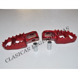 Reposapies Montesa Cota 315 plata ref.50616
