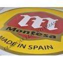 Vinilo Pared Logo Montesa 58 cm Color ref.0080160