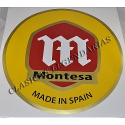 Vinilo Pared Logo Montesa 58 cm ref.0080160