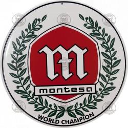 Placa decorativa Montesa Brío Conmemorativa 30cm Ref 1107