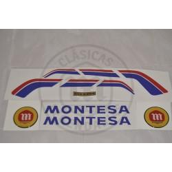 anagramas Deposito Montesa Enduro 80 H7 ref. A150101