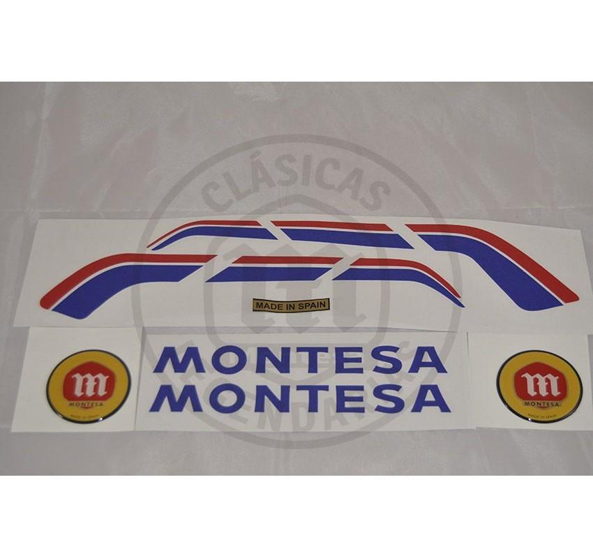 anagramas Montesa Enduro 360 H7 año 1984 ref. 1506
