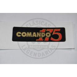 Anagrama Montesa Impala Comando negro Ref.A260061101