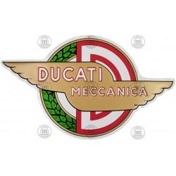Placa Decorativa Ducati Meccanica ref.11071