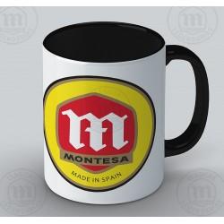 Taza montesa logo y series Ref.TA10802