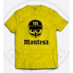 Camiseta Casco Montesa Vintage Ref.R01103