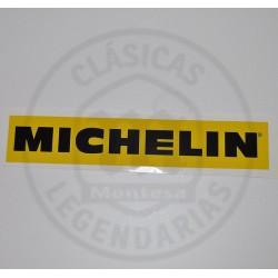 Anagrama adhesivo amarillo Michelin Ref. AML-01083