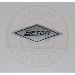 Anagrama adhesivo amortiguador Betor ref. AML2100