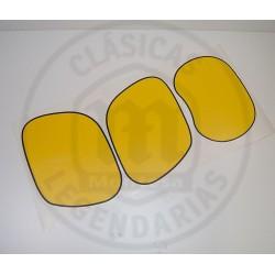 kit anagramas andhesivos Placas laterales y Careta faro Montesa Enduro 75-125 H6 y 80 H7 ref.62805071