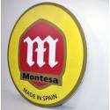 Cuadro decorativo pared emblema Montesa. Ref. CU10001