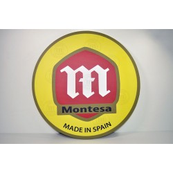 Cuadro decorativo pared emblema Montesa. Ref. CU10001