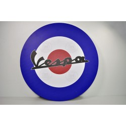 Cuadro decorativo pared emblema Vespa. Ref. CU10003