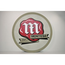 Cuadro decorativo pared emblema Montesa Clásico. Ref. CU10007