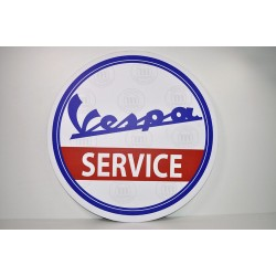 Cuadro decorativo pared Vespa Service. ref. CU10009