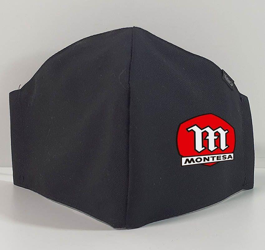 Mascarilla de tela reutilizable Logo Montesa Ref. R1000101